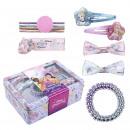 Großhandel Lizenzartikel: Princess - Beauty-Set Box-Zubehör, rosa