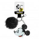 Mickey - sleutelhanger acrilico, zwart