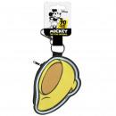 Minnie - Schlüsselanhänger mit Geldbörse, gelb