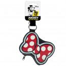 Minnie - Schlüsselanhänger mit Geldbörse, rot