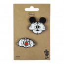 wholesale Haberdashery & Sewing:MICKEY - brooch, rainbow