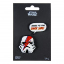 wholesale Haberdashery & Sewing:STAR WARS - brooch, red