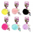 LOL - key chain acrilico pom pom