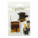 HARRY POTTER - brooch, red