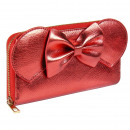 wholesale Home & Living: MINNIE - purse business card holder polipiel, red