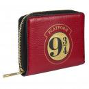 HARRY POTTER - purse business card holder faux-lea