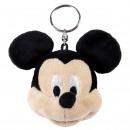 nagyker Ajándékok és papíráruk: Mickey - kulcstartó peluche, fekete