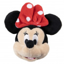 groothandel Stationery & Gifts: Minnie - sleutelhanger peluche, rood