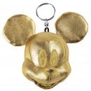 mayorista Accesorios: Mickey - llavero peluche, dorado