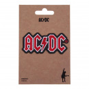 ACDC - patch, red