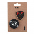 wholesale Household & Kitchen:ACDC - brooch, black