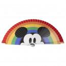 groothandel Huishouden & Keuken: Disney - hand fan pride, veelkleurig