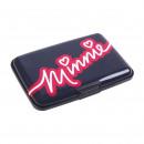Großhandel Lizenzartikel: Minnie - Geldbörse Visitenkartenhalter starr, schw