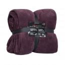 grossiste Coussins & Couvertures: Snug Me Coral  Blanket 220 x 240, Bordeaux