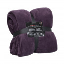 wholesale Home & Living: Snug Me Coral  Blanket 220 x 240, Purple