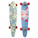 Longboard Kicktail  Moorea Tiki Bamboo Series