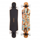 wholesale Sports and Fitness Equipment: Longboard Twin Tip  DT Soul Flex 2 Brown / Blue