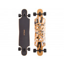 Longboard Twin Tip  DT Soul Flex 1 Black / White