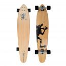 groothandel Sport & Vrije Tijd: Longboard Kicktail  Hawaian Wulff Bamboo Series