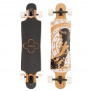 wholesale Sports and Fitness Equipment: Longboard Twin Tip  DT Hinano Black & White