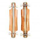 Longboard Twin Tip DT Kauai turkoois Stripes