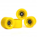 wholesale Sports and Fitness Equipment: Wheel Set 78A /  70x50mm; ABEC 7; yellow