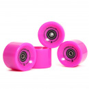 wholesale Sports and Fitness Equipment: Wheel Set 78A /  70x50mm; ABEC 7; pink
