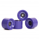 wholesale Sports and Fitness Equipment: Wheel Set 78A /  70x50mm; ABEC 7; purple