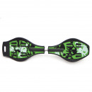Apollo Waveboard Skull green