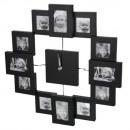 Großhandel Bilder & Rahmen:Bilderrahmenuhr schwarz