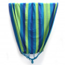 Couple hammock Stripes; blue green