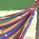 wholesale Garden & DIY store: Couple hammock Stripes; colorful