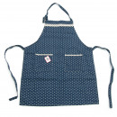 wholesale Kitchen Utensils: Universal apron blue / white striped