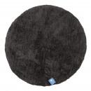 groothandel Home & Living: Badmat, CLOUD  round D: 95 cm, antraciet