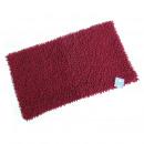 grossiste Maison et habitat: Tapis de bain,  Shaggy 50 x 80 cm, rouge