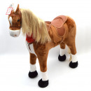 wholesale Toys: STANDING HORSE   Elsa  100 cm with red scarf