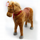 wholesale Wooden Toys: STANDING HORSE   Sunny  100 cm with red saddle