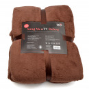 wholesale Home & Living: Snug Me Deluxe -  blancket with sleeves, brown