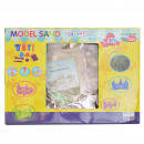 wholesale Toys: 1kg moldable play  sand incl tool. Color: Cre