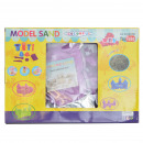 1kg moldable play sand incl tool. Color: Lil