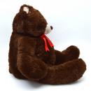 Teddybär Bruno,  100cm XXL Plüschbär in braun