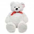 wholesale Toys: Teddy Carlie 100cm XXL plush in white
