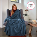 Großhandel Home & Living: Supersoft  Kuscheldecke, 200 x 150 cm, Anthrazit