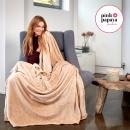 grossiste Maison et habitat: Super Blanket  souple, 200 x 150 cm, Cappuccino