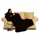 wholesale Home & Living: Snug Rug LITE  blancket with sleeves - Black