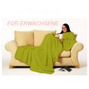 grossiste Maison et habitat: Snug Rug LITE  couverture avec des manches - vert p
