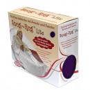 Großhandel Kissen & Decken: Snug Rug LITE  Decke mit Ärmeln - Purple