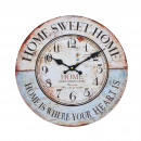 Wall Clock - Home Decor, Ø: 34 cm