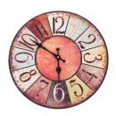 grossiste Horloges & Reveils: Horloge murale -  Vintage couleur, Ø: 34 cm