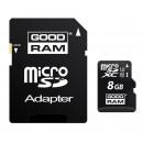 groothandel Opslagmedia:-MicroSD  geheugenkaart 8 GB  + adapter CL10 UHS ...